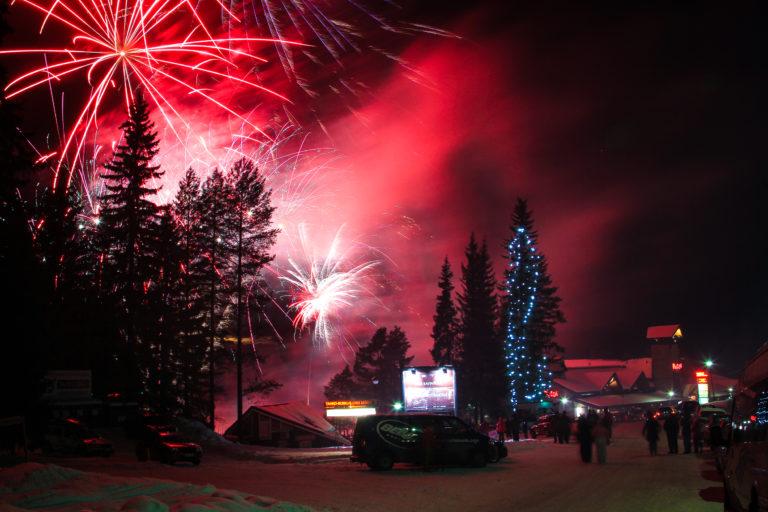 Happy New Year from Tahko, Finland