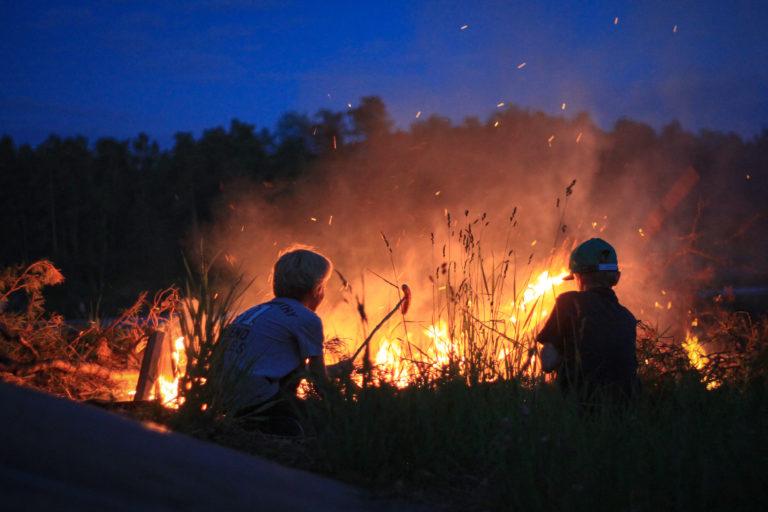 my first juhannus, mid summer, finland bonfire